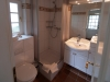 Ferienwohnung Bungalow Badezimmer