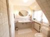 Ferienwohnung Dachgeschoss Badezimmer